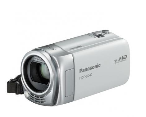 Panasonic HDC SD-40: cea mai usoara camera video