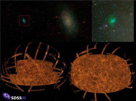 Cea mai detaliata fotografie color a cerului nocturn, prezentata de astronomi