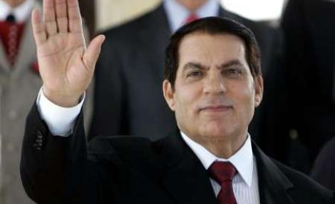 Presedintele tunisian a fugit in Arabia Saudita