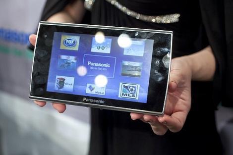 Panasonic Viera Tablet - filme, internet si cloud computing