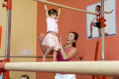 VIDEO! SUA: sali de fitness pentru bebelusi
