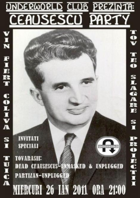 Ceausescu party in Underworld