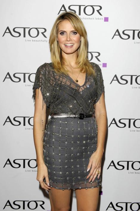 Heidi Klum da lectii de moda si lifestyle pe internet