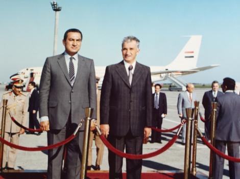 SPECIAL: In 30 de ani, Hosni Mubarak a vizitat Romania de zece ori