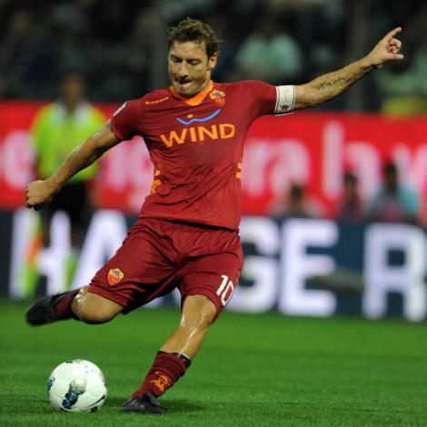 Totti,  indisponibil pentru derby-ul Lazio - AS Roma