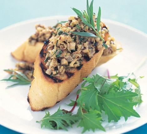 Reteta delicioasa: Pateu de ciuperci si castane