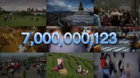 Populatia Terrei schimba prefixul: vom fi sapte miliarde!