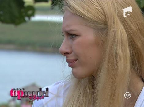VIDEO! Gina a parasit Next Top Model in lacrimi!