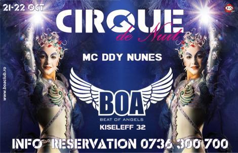 Un club se trasforma in arena de circ printr-un show in premiera creat de Cirque du Nuit!
