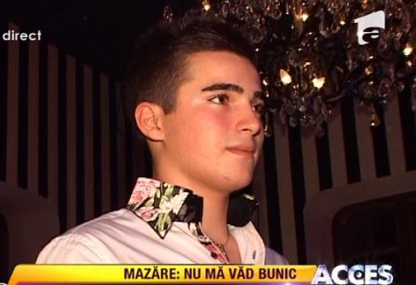 "VIDEO! Radu Mazare: ""Fiul meu trebuie sa aiba mai multe iubite"""