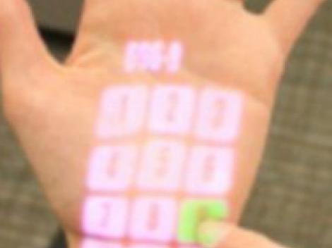 Tehnologia viitorului: peretii, masinile sau chiar mana ta pot deveni un touchscreen