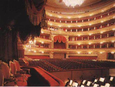 Teatrul Bolsoi din Moscova se redeschide dupa sase ani de renovare