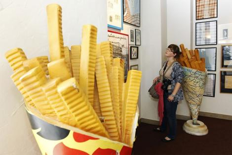 FOTO! Doar pentru gurmanzi: muzeul dedicat cartofilor prajiti