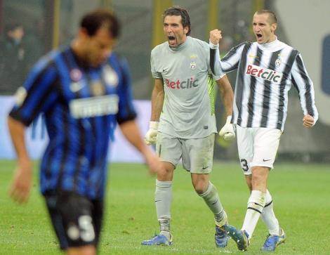 Inter pierde cu Juventus, Milan se impune la Roma