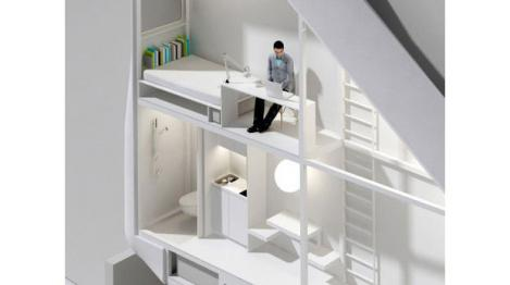 FOTO! Vezi cum arata cel mai ingust apartament din lume!