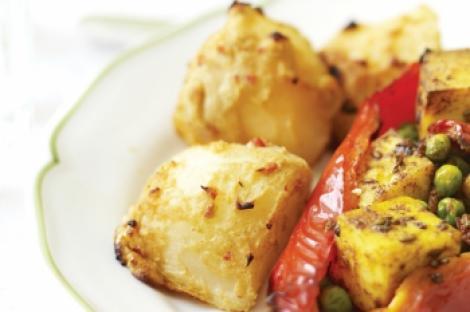Reteta zilei: cartofi copti cu crusta picanta de iaurt