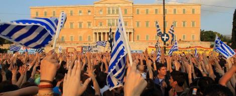 UPDATE! Grecia, paralizata de greva! Sute de ofiteri au luat cu asalt Ministerul Apararii!