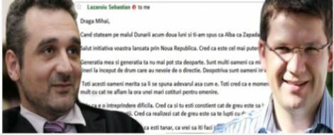 "Lazaroiu, despre ""Noua Republica"": Dupa cum spuneam, Alba ca Zapada e inevitabila"