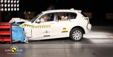 Euro NCAP: 5 stele pentru noul BMW Seria 1