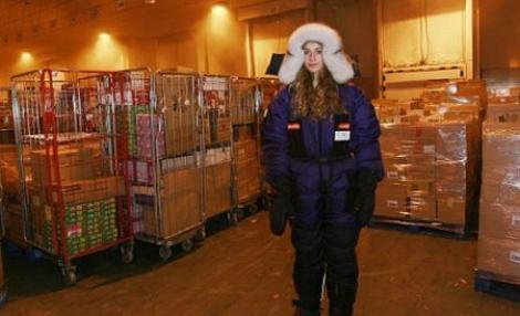 UK: O adolescenta locuieste de buna voie in camera frigorifica a unui super-market