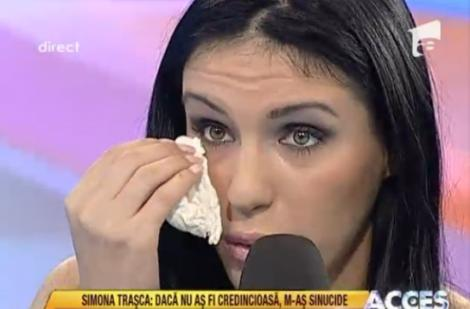 VIDEO! Cristina Roman a plans in hohote din cauza Simonei Trasca!