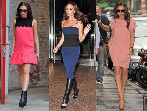 FOTO! Victoria Beckham a redevenit sex simbolul modei