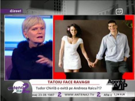 VIDEO! Andreea Raicu si Tudor Chirila se impaca!