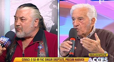 VIDEO! Sergiu Nicolaescu si Nicu Covaci, cearta monstru din cauza banilor!