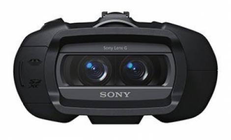 Sony lanseaza un binoclu 3D, primul care poate filma 1080p