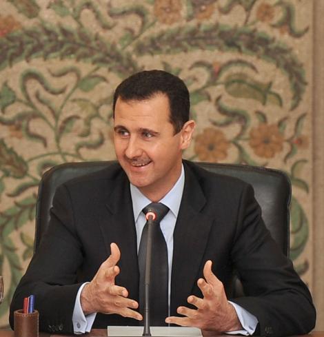"Presedintele sirian, pentru Sunday Times:""Siria nu va ceda in fata ingerintelor externe"""