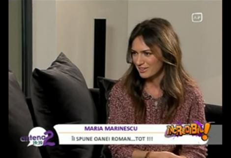 "VIDEO! Maria Marinescu: ""Casatoria cu Ion Ion Tiriac a fost o gluma"""