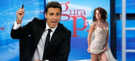 VIDEO! Mircea Badea i-a aratat degetul Adelinei Pestritu!