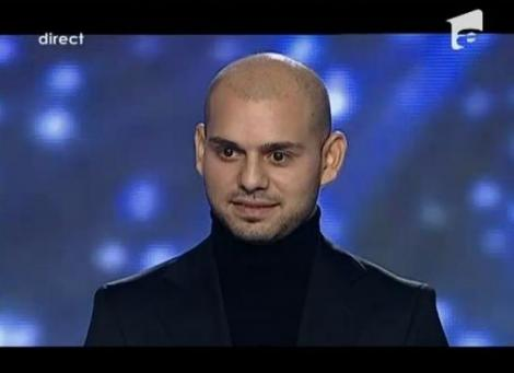 VIDEO! Alin Vaduva a cantat pe scena X Factor