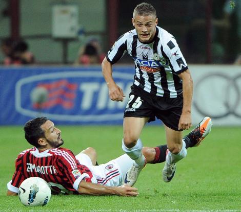 Torje si Lobont, doar rezerve in Udinese Roma 2-0