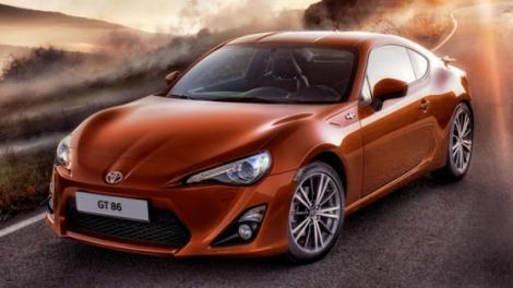Toyota prezinta noul GT-86