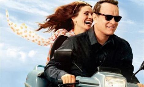 Producatorii ultimului film cu Tom Hanks si Julia Roberts, amendati din cauza unei poze