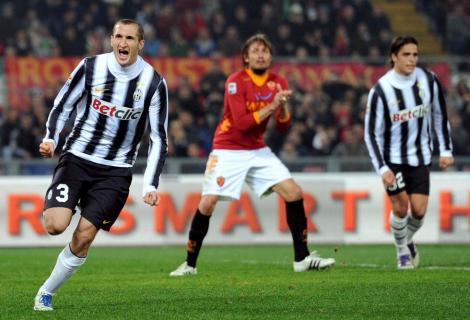AS Roma - Juventus 1-1 / Torinezii raman pe primul loc