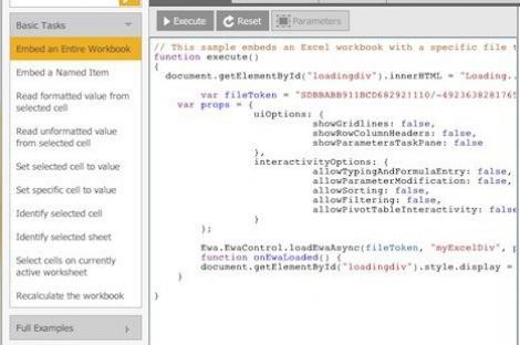 Excelmashup, site-ul ce infrumuseteaza bazele de date