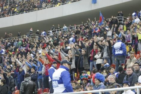 Au mai ramas bilete doar la Peluza I, pentru meciul Steaua vs AEK Larnaca