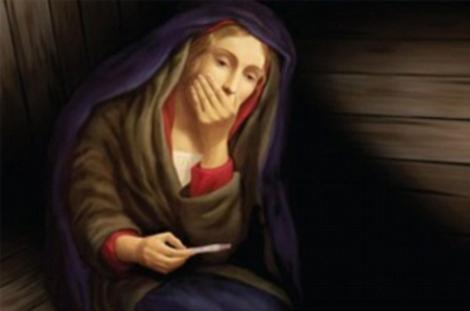 Vezi fotografia cu Fecioara Maria care a revoltat lumea crestina!