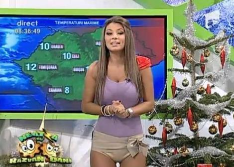 VIDEO! Roxana Vancea, dans sexy la Neatza!