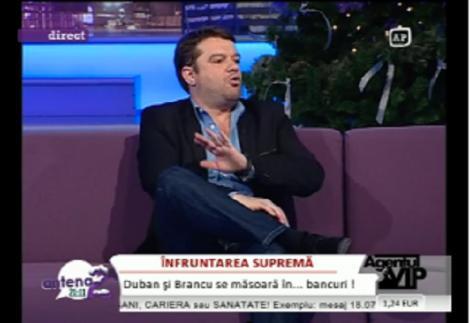 """VIDEO! Andrei Duban: """"Usor-usor, ma simt ca pe vremea lui Ceausescu"""""""