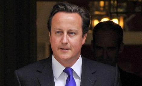 Premierul britanic David Cameron creste in sondaje, datorita opozitiei fata de pactul fiscal european