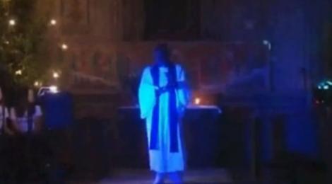 VIDEO! Biserica, transformata in club de noapte