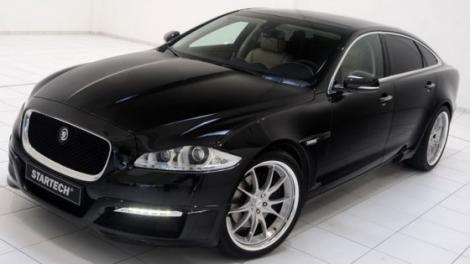 Startech l-a imbunatatit estetic pe Jaguar XJ