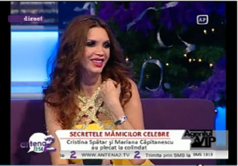 "VIDEO! Cristina Spatar, la a doua sarcina: ""Daca nu mananc acum, cand sa mai mananc?"""