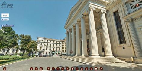 VIDEO! Vezi turul virtual al Ateneului Roman!