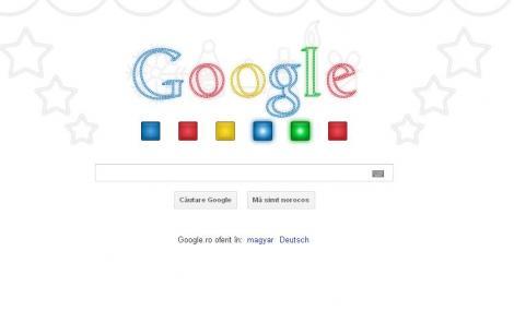 De Craciun, Google ofera utilizatorilor un logo muzical