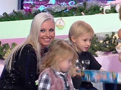VIDEO! Scandal in familia Cernea: copii ii cer Mihaelei sa se lase de fumat