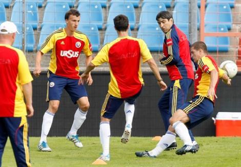 Steaua nu ar vrea sa lase 7 jucatori la nationala